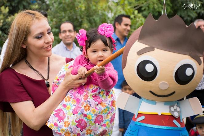 Fiesta infantil en Morelia
