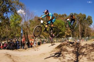 Competencia de bicicroos en el bosque de Morelia