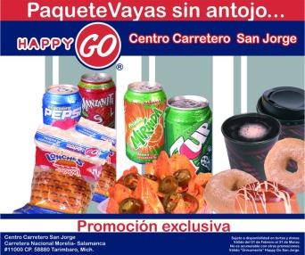 Fotografía para promocionales de la cadena HappyGo